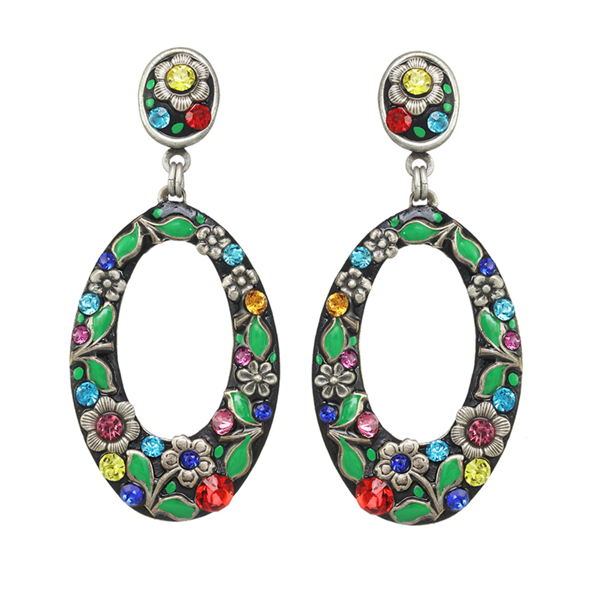 Michal Golan Midsummer Hoop Earrings
