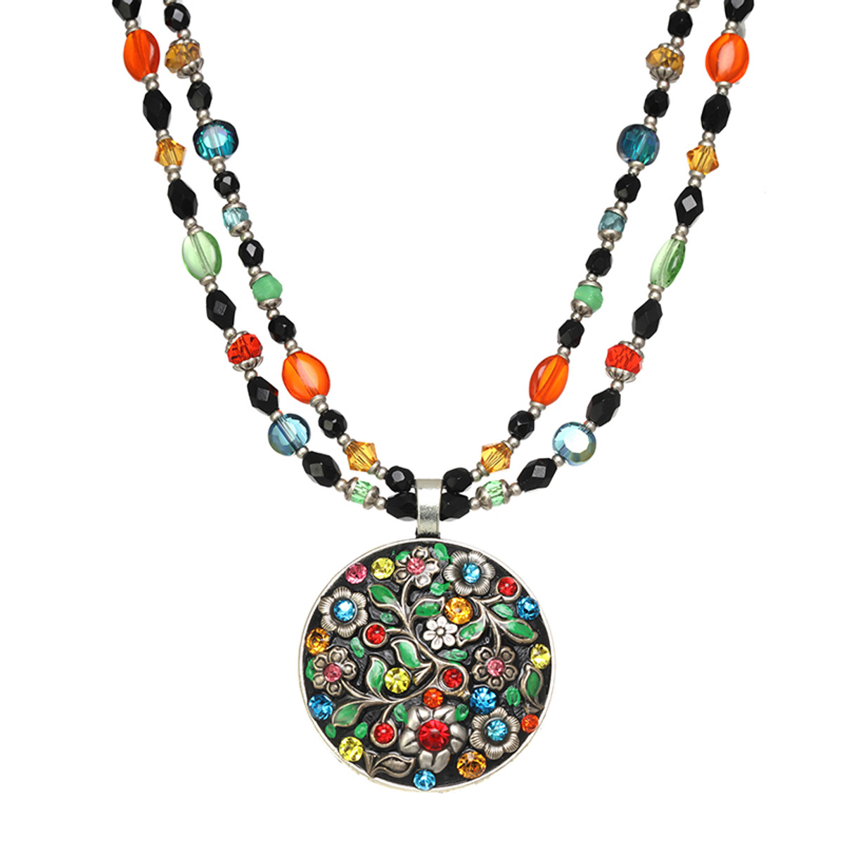 Michal Golan Midsummer Large Circle Necklace