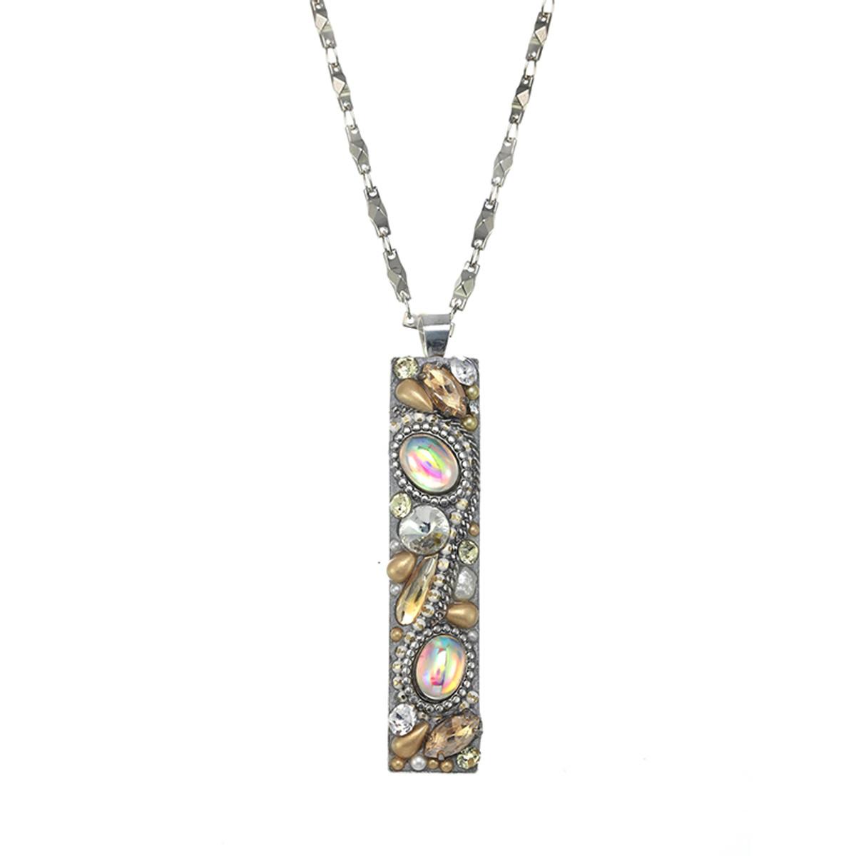 Michal Golan Moonlight Long Bar Necklace