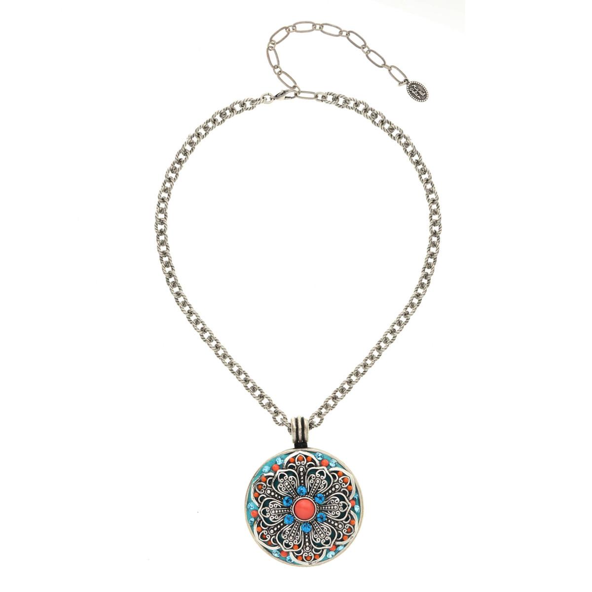 Michal Golan Aruba Large Medallion Necklace