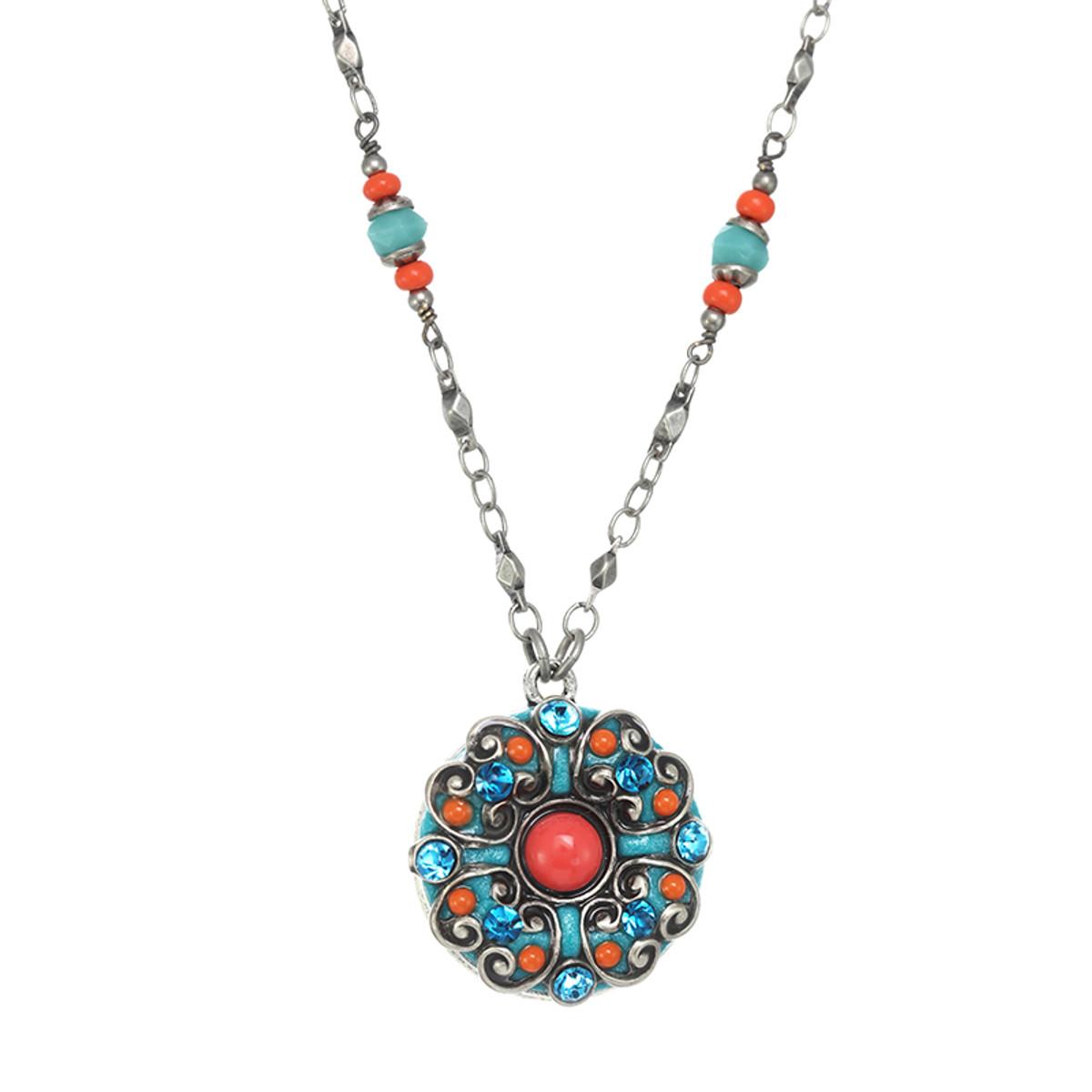 Michal Golan Aruba Flower Necklace