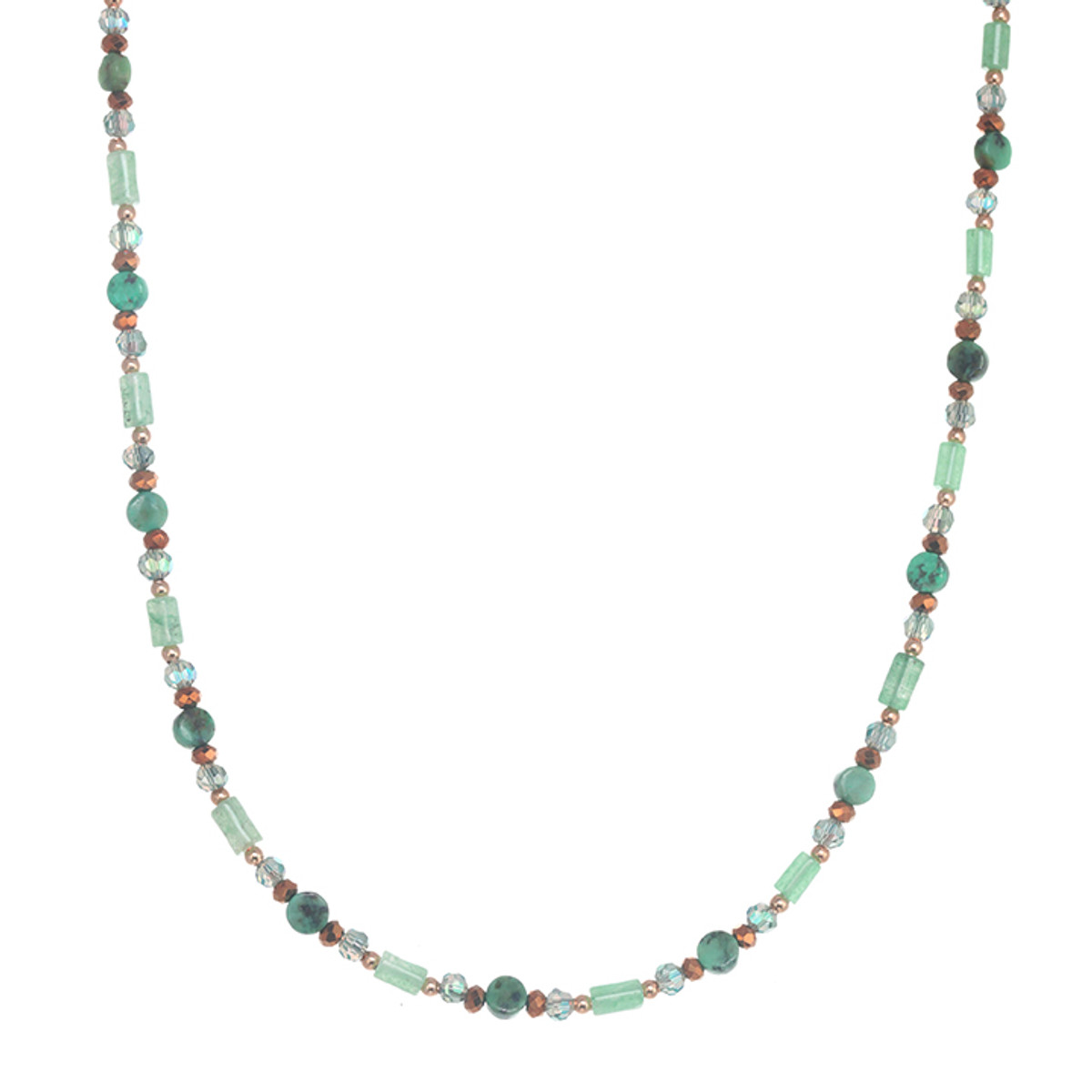 Michal Golan Lush Forest Choker Necklace