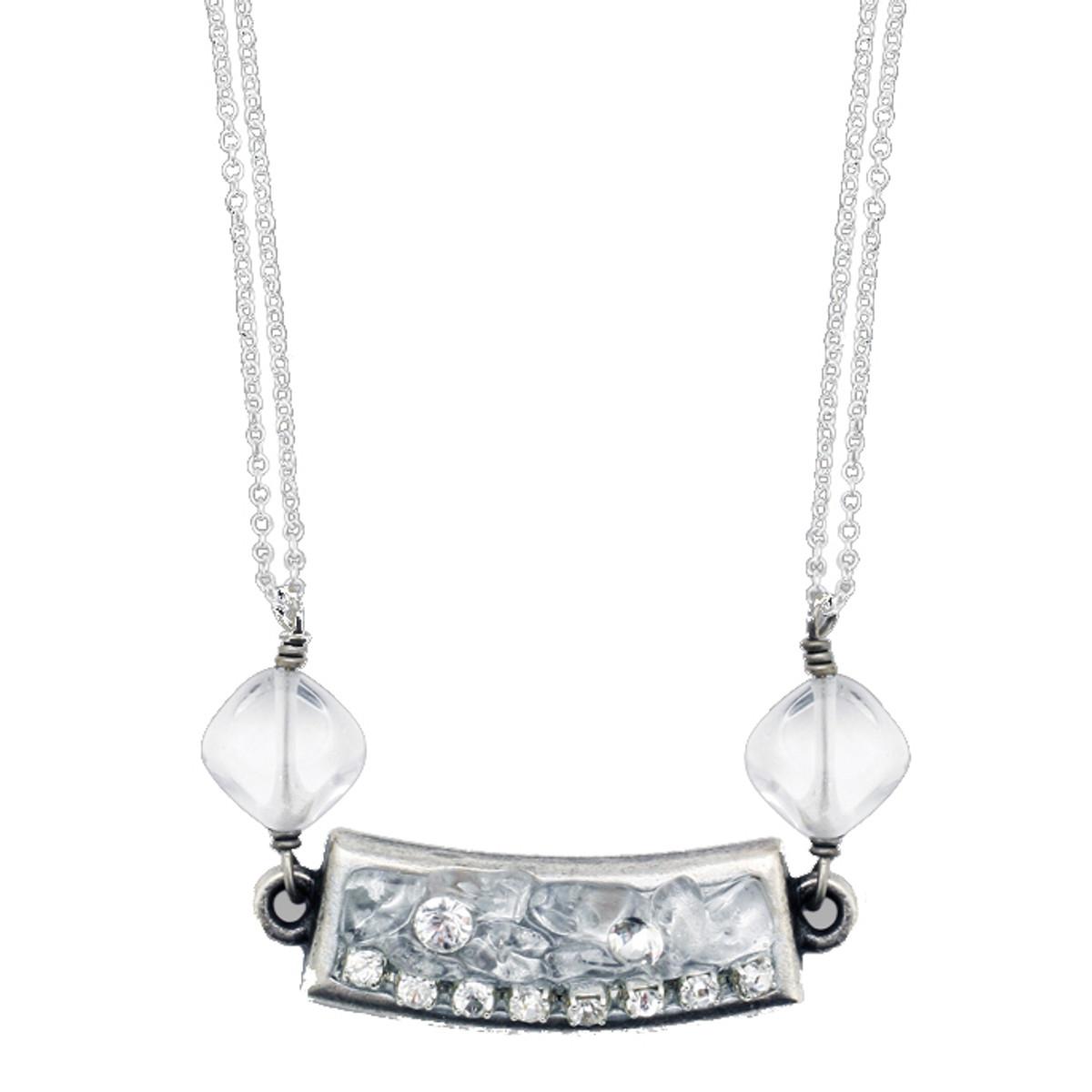 Michal Golan Icy Dreams Bar Necklace