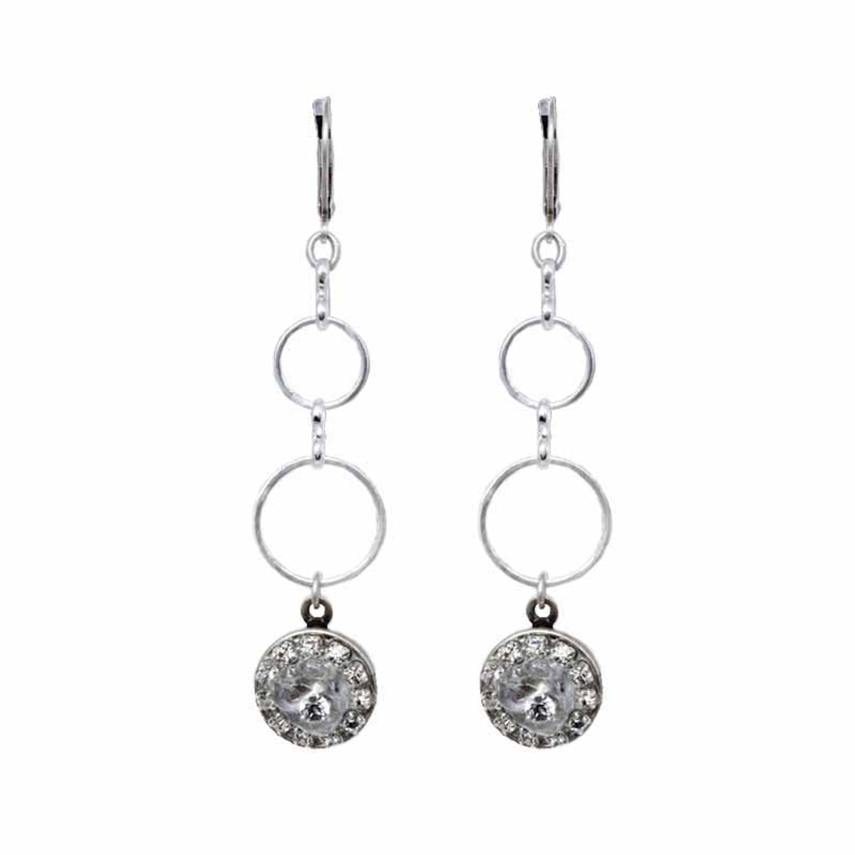 Michal Golan Icy Dreams Dangling Charm Earrings