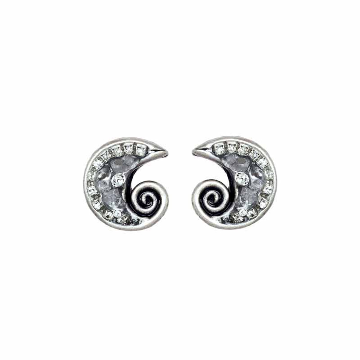 Michal Golan Icy Dreams Swirl Earrings