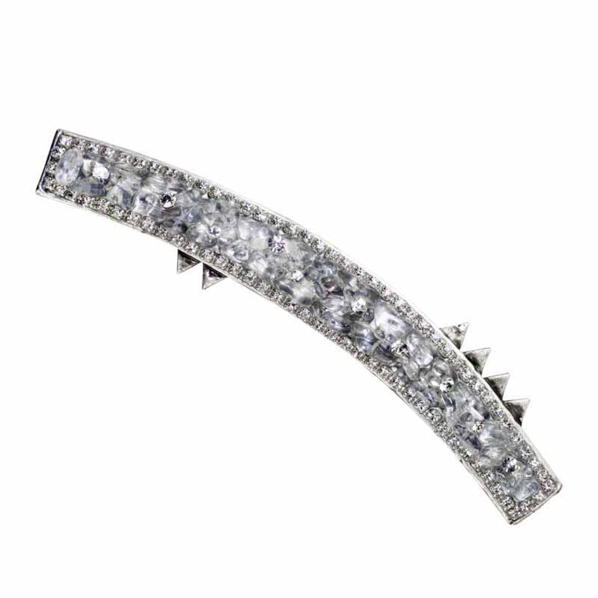 Michal Golan Icy Dreams Long Curved Brooch