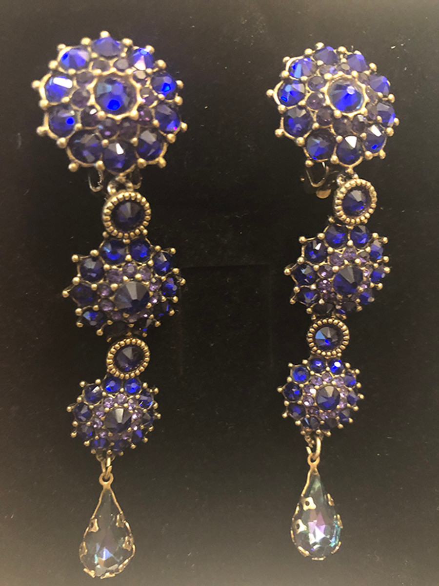 Michal Negrin Ready to shine Clip on Earrings