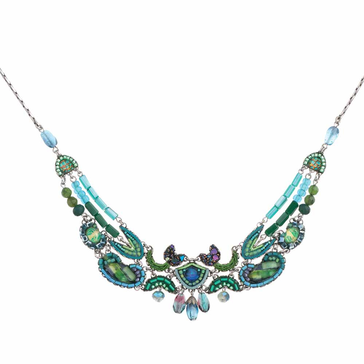 Ayala Bar Green River Delicate Rapids Necklace