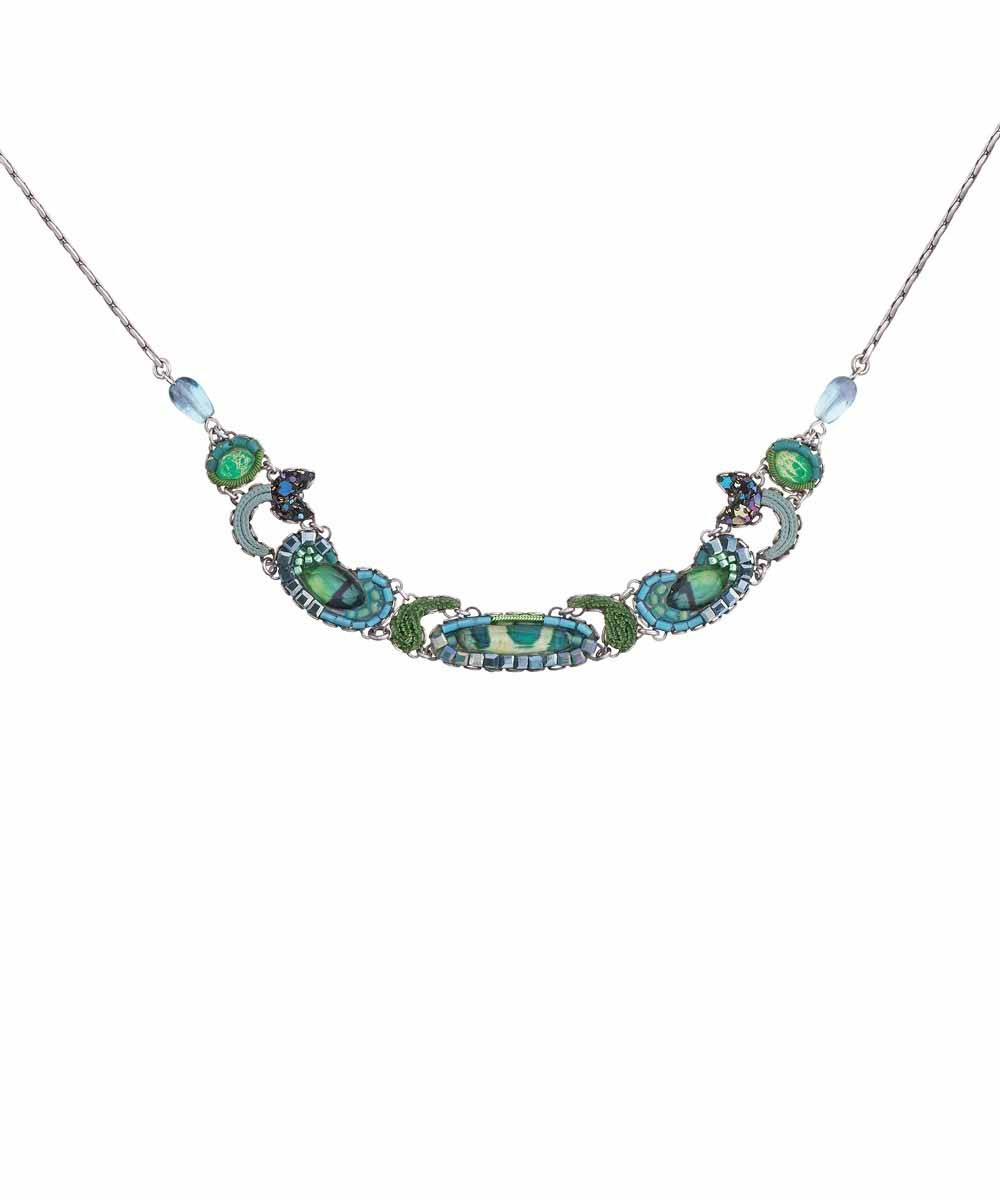 Ayala Bar Green River Steady Stream Necklace