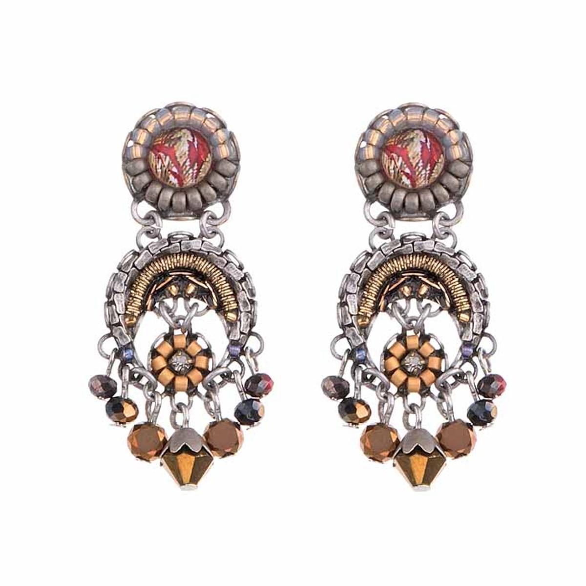 Ayala Bar Golden Fog Whistles Earrings