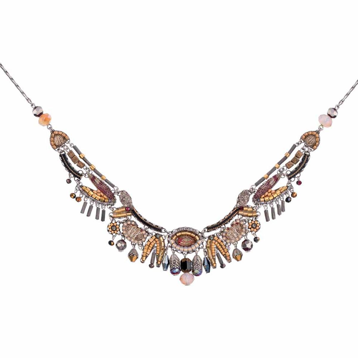 Ayala Bar Golden Fog Ticking Clock Necklace