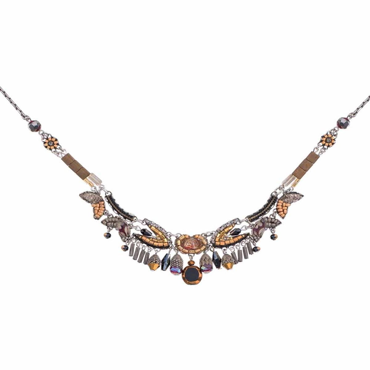 Ayala Bar Golden Fog City Construction Necklace