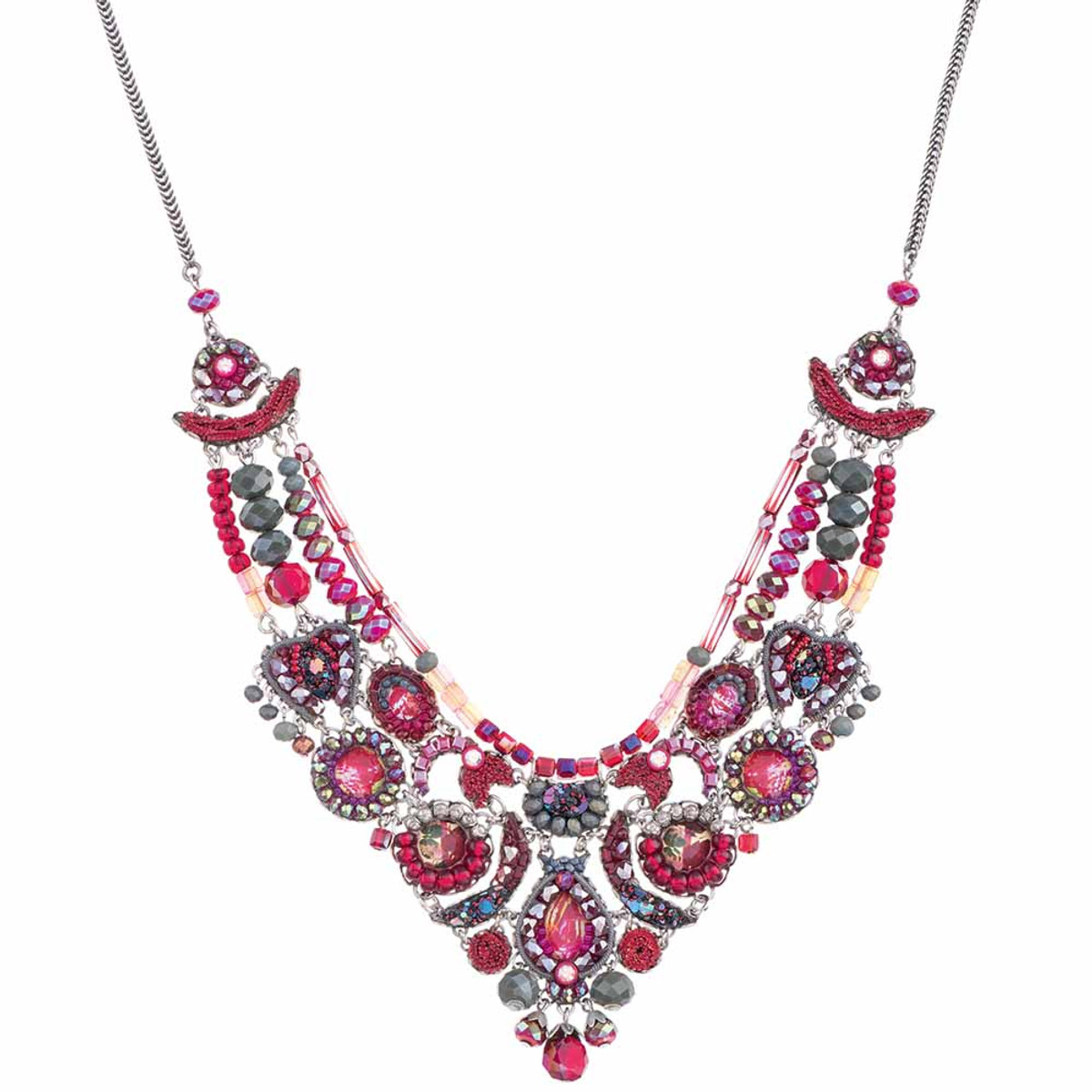 Ayala Bar Crimson Flame Strawberry Candy Necklace