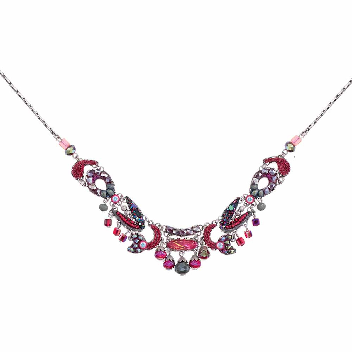 Ayala Bar Crimson Flame Dark Apple Necklace