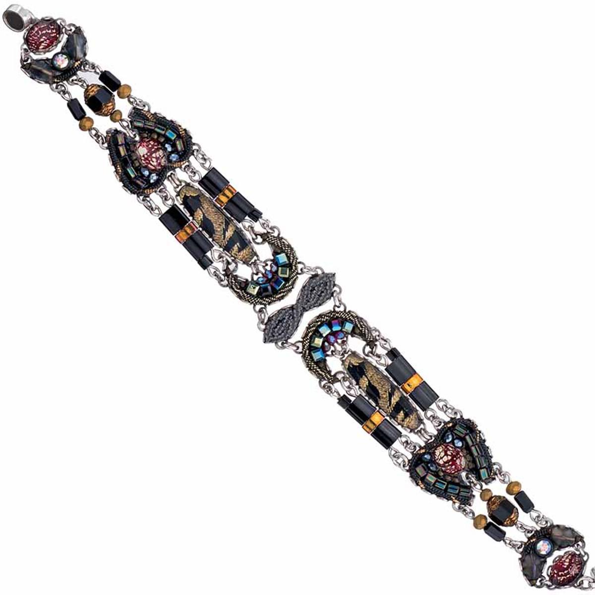 Ayala Bar Moon Jet Midnight Bracelet