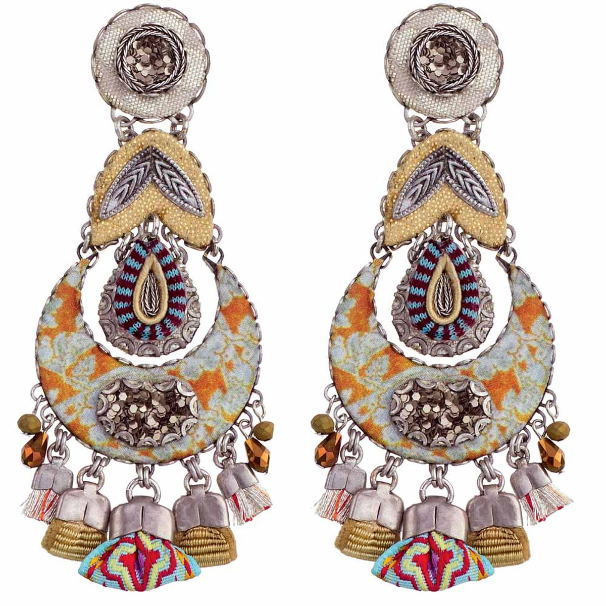 Ayala Bar Sgt Pepper Sand Trap Earrings