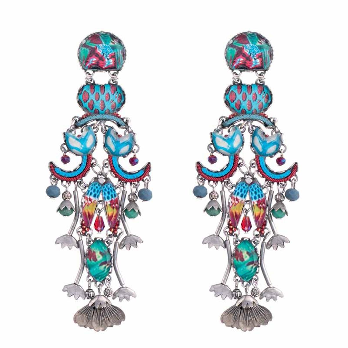 Ayala Bar Blue Castle Grace Earrings