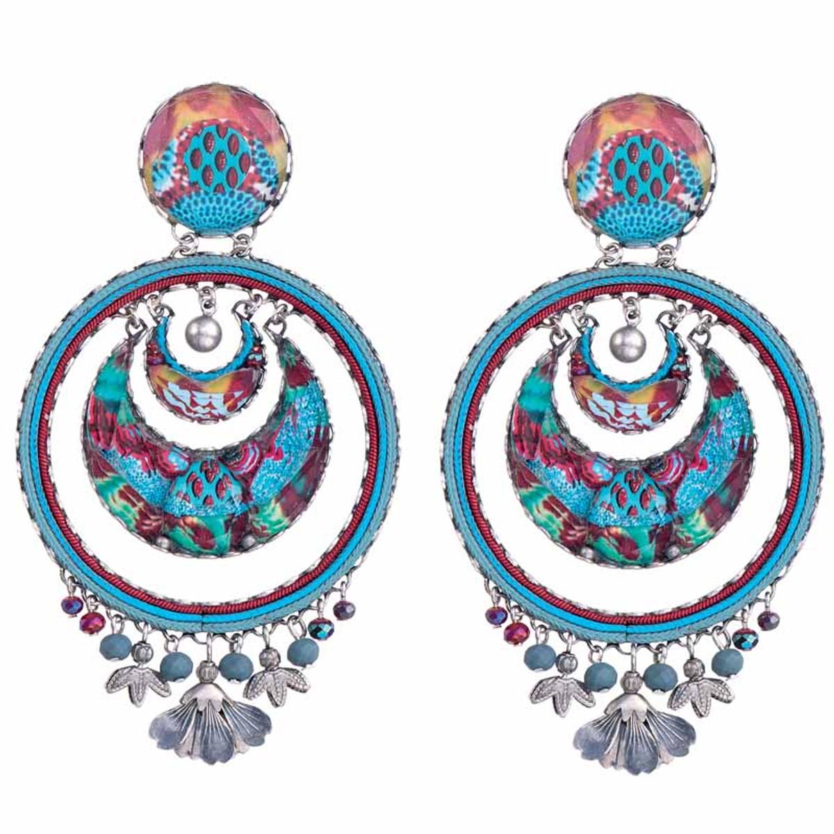 Ayala Bar Blue Castle Camila Earrings