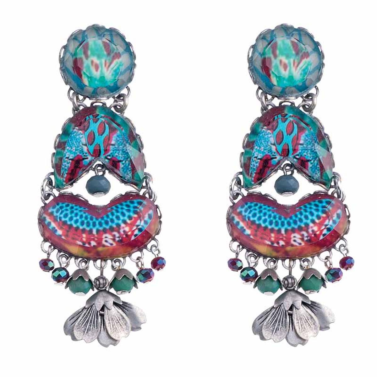 Ayala Bar Blue Castle Luna Earrings