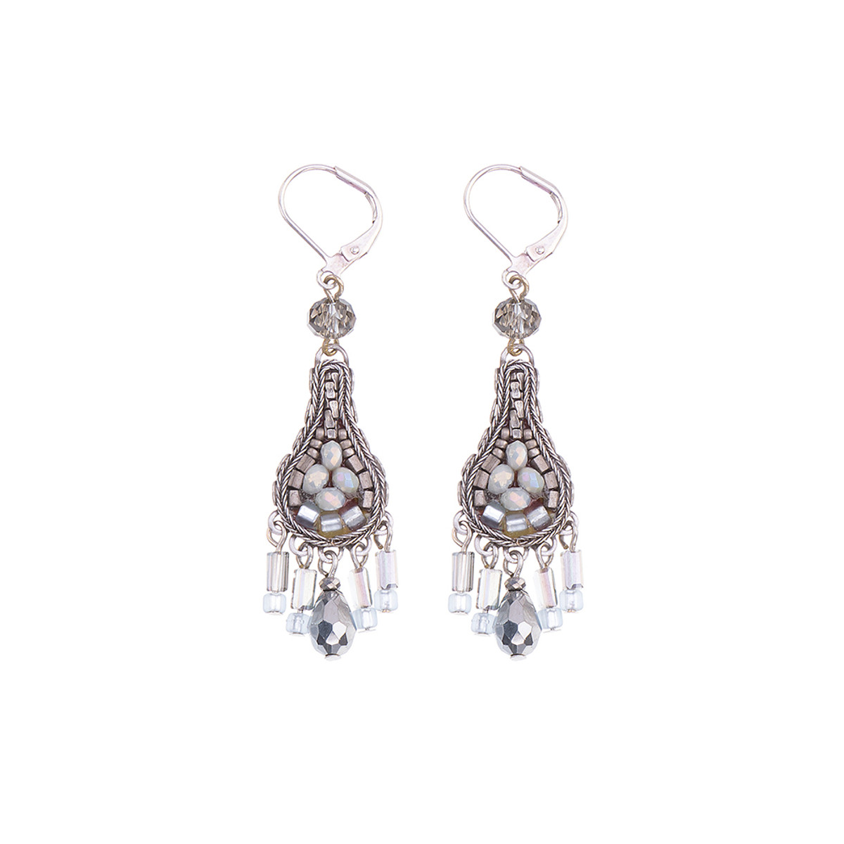 Ayala Bar Silver Odyssey French Wire Earrings
