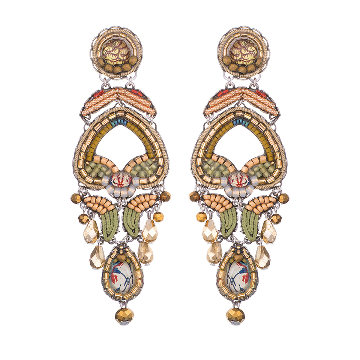 Ayala Bar Shifting Sands Hourglass Earrings