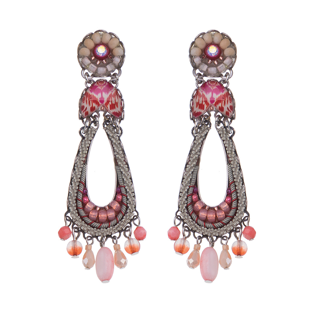 Ayala Bar Gogi Pearl Teardrop Earrings