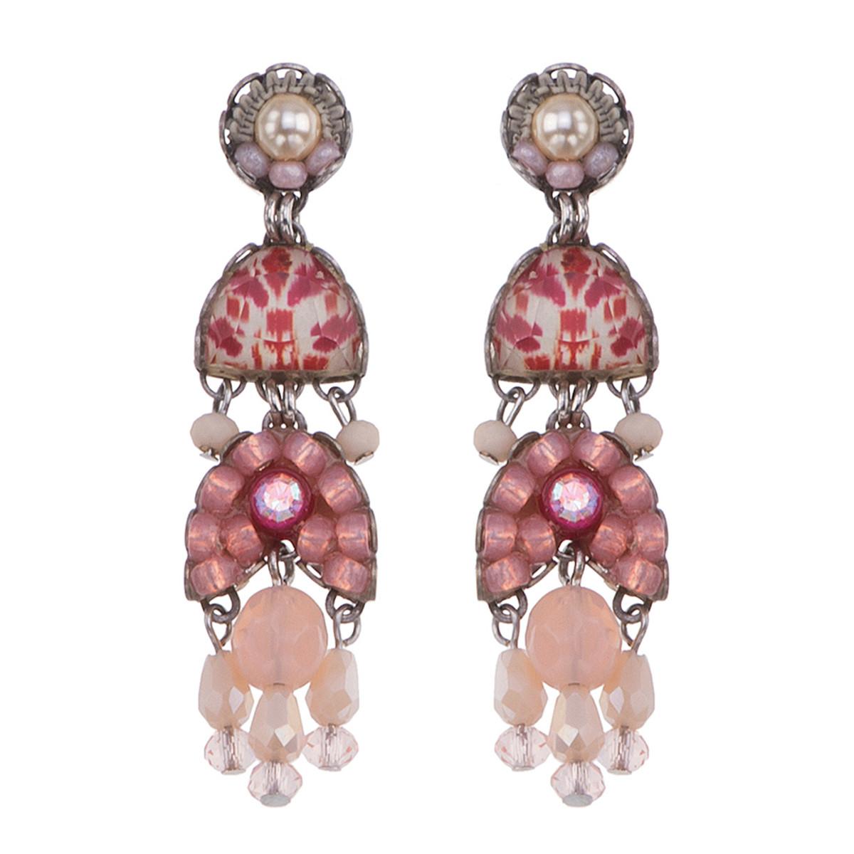 Ayala Bar Gogi Pearls Champagne Earrings