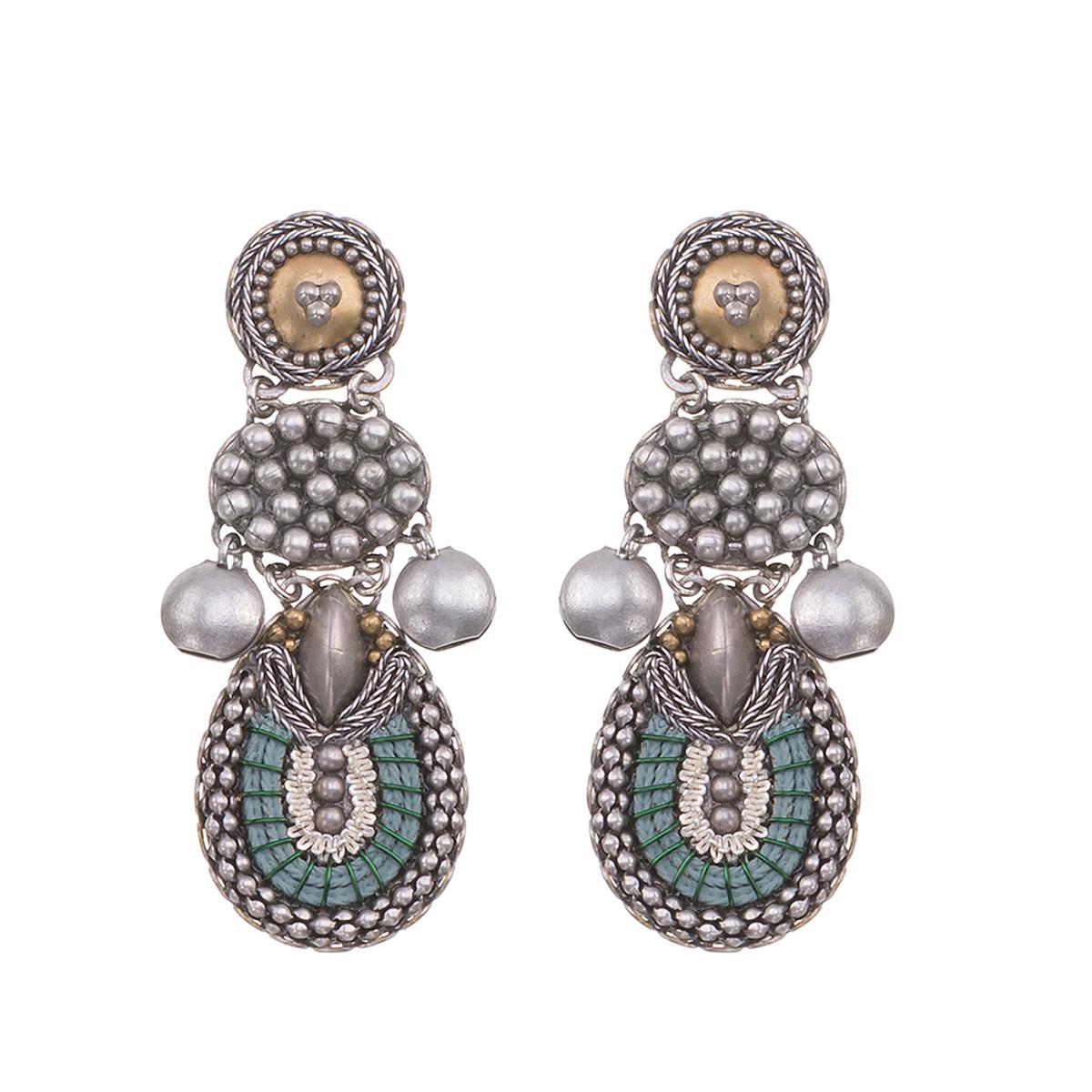 Ayala Bar Indigo Dancing Water Earrings