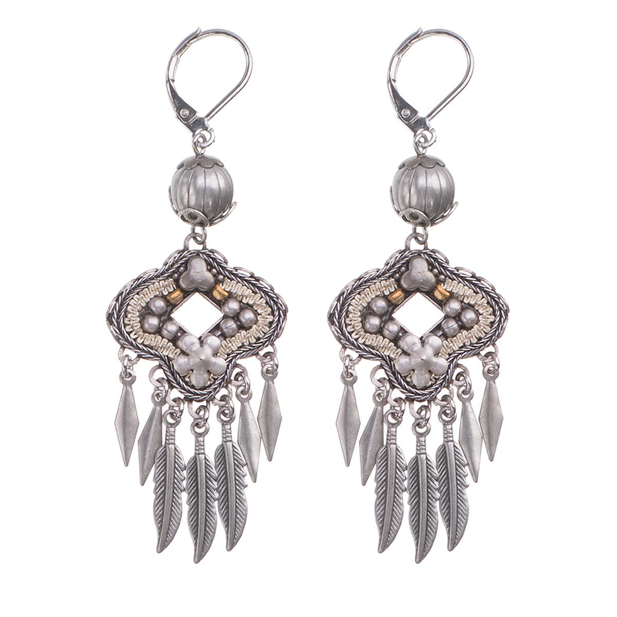 Ayala Bar Indigo Hypnotize French Wire Earrings