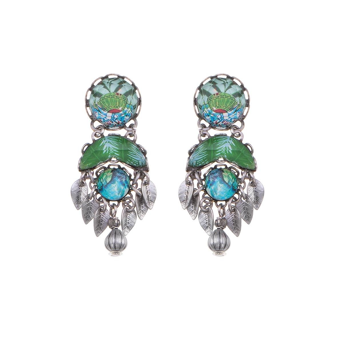 Ayala Bar Sweet Leaf Whisper Earrings