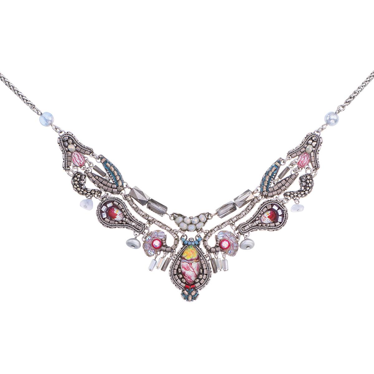 Ayala Bar Silver Odyssey Globetrotter Necklace