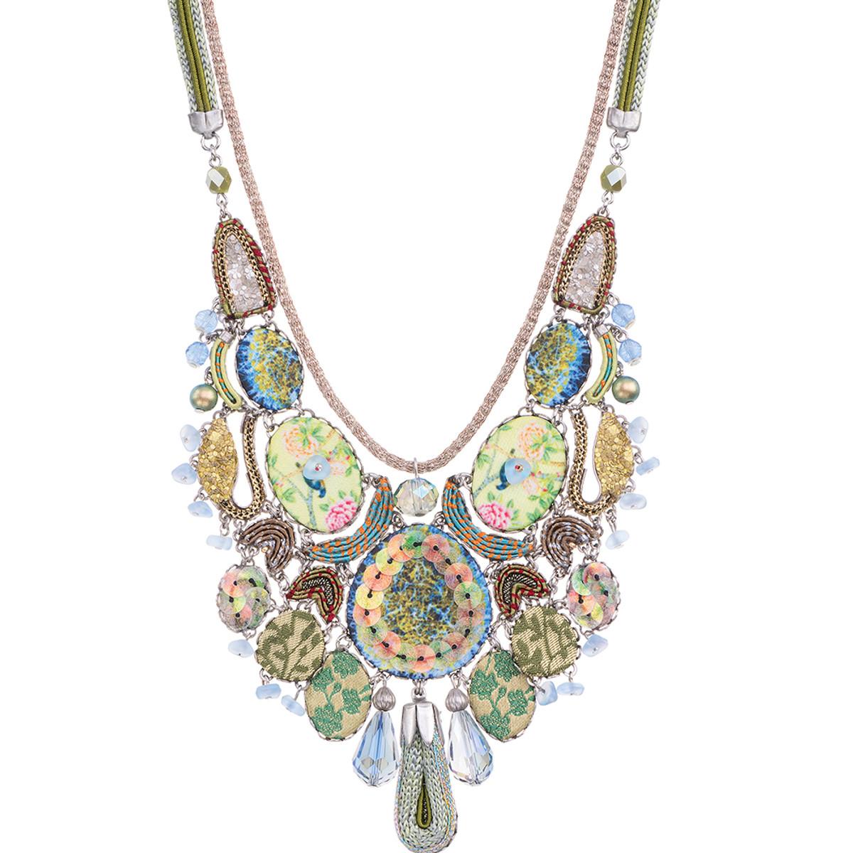 Ayala Bar Fiesta Green Jungle Necklace