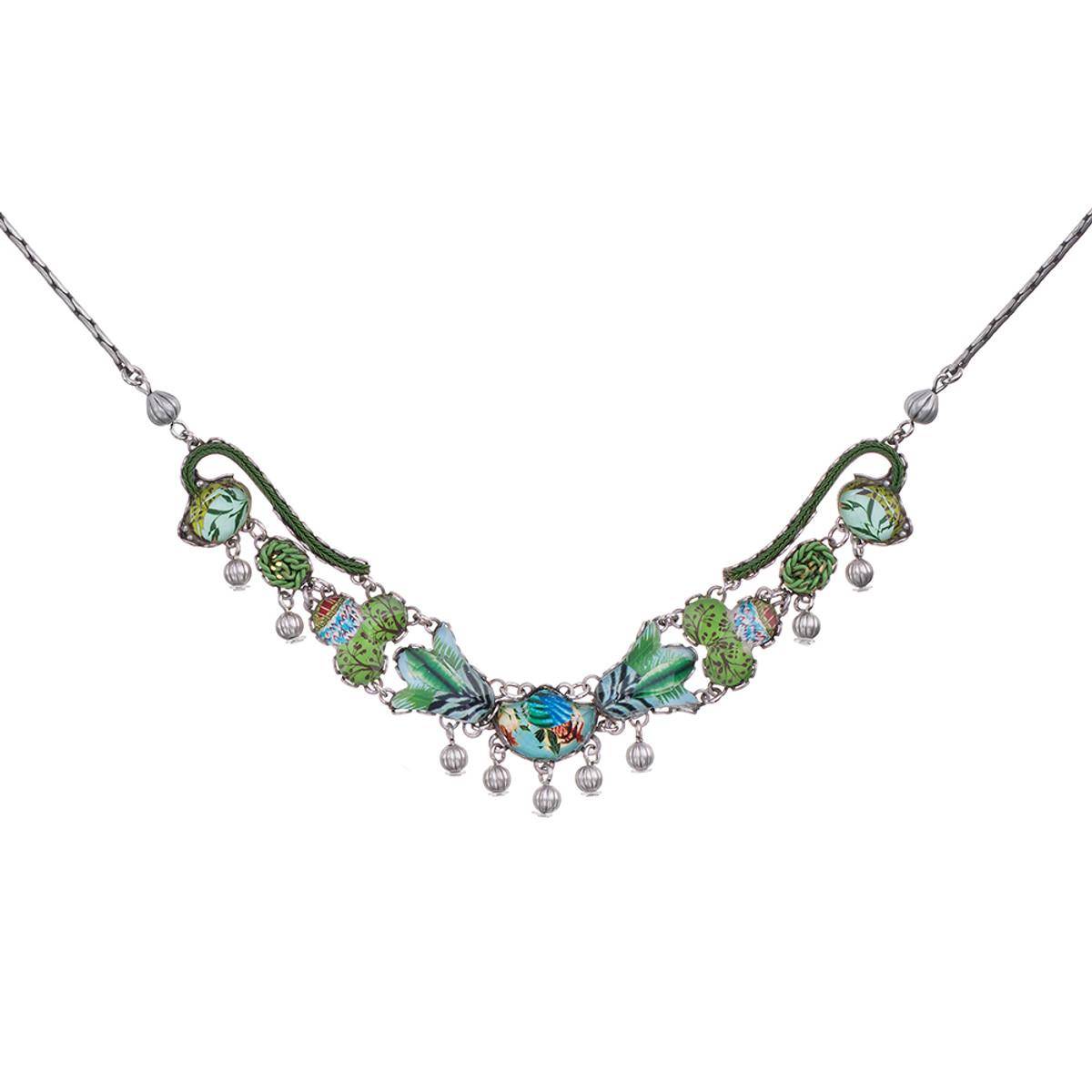Ayala Bar Sweet Leaf Canopy Necklace