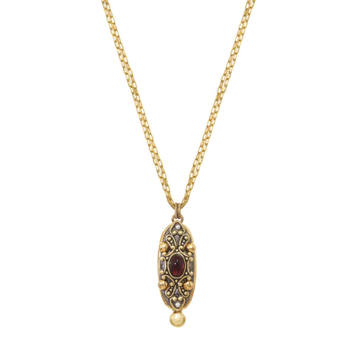 Michal Golan Victorian Oval Necklace