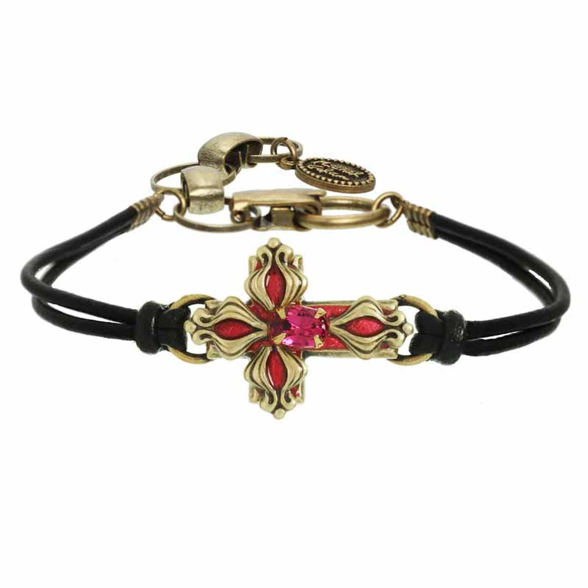 Michal Golan Cross on Flame Bracelets