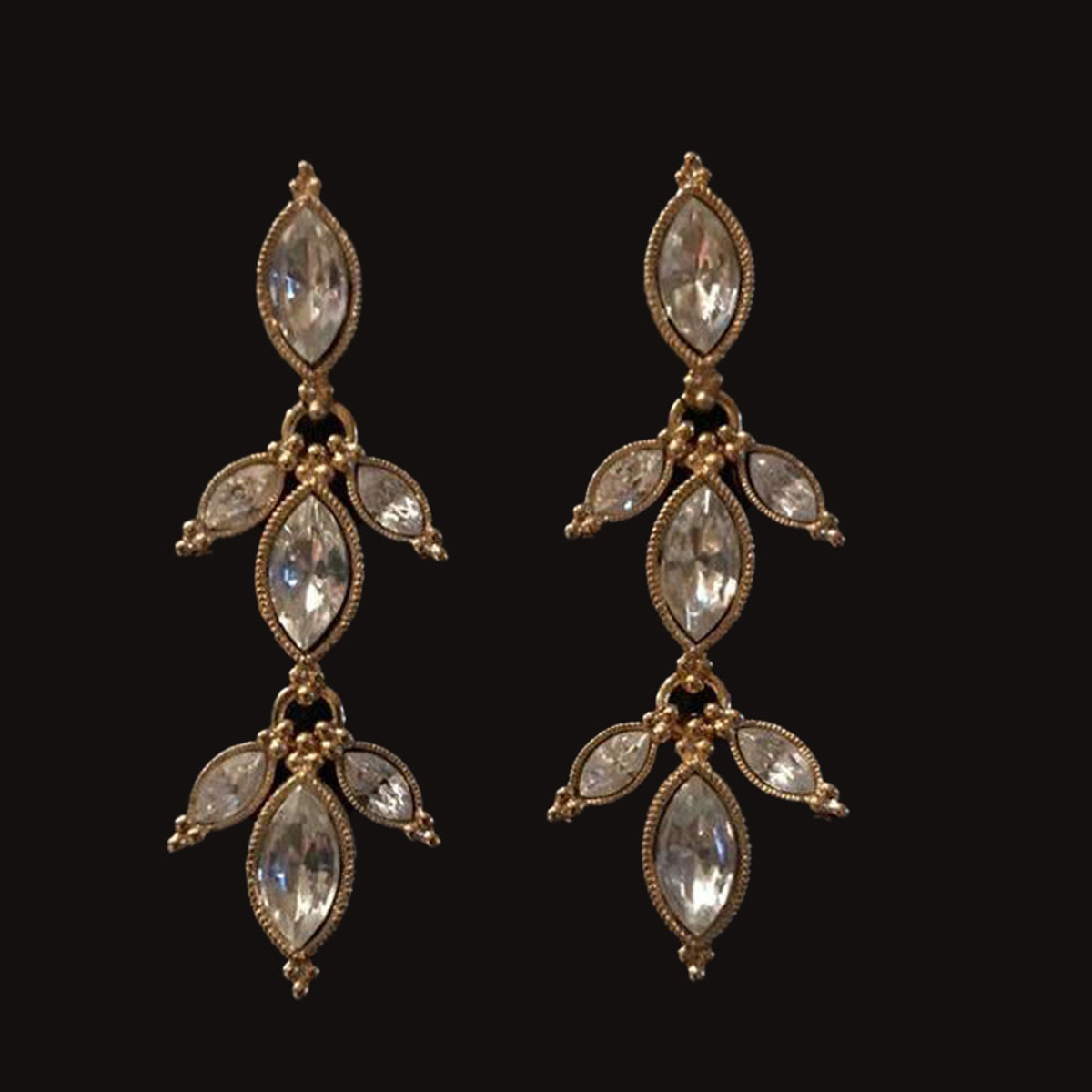 Michal Negrin Golden Hour Post Earrings