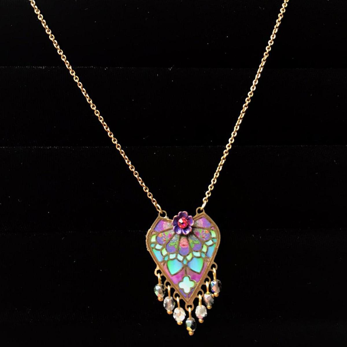 Michal Negrin Josephine Swarovski Crystals Necklace