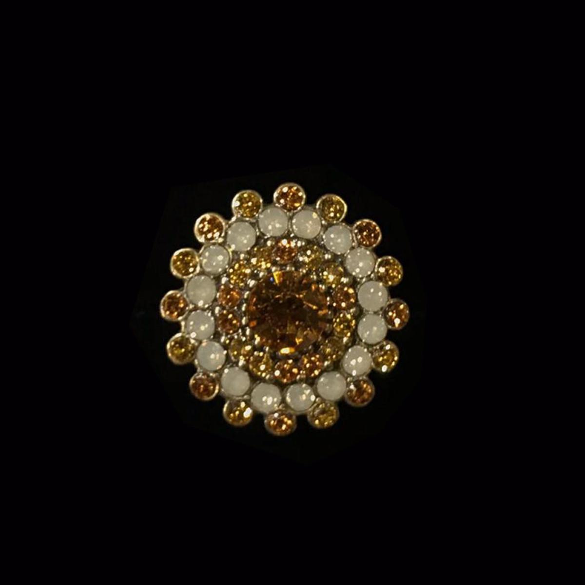 Michal Negrin Round Sun Ring