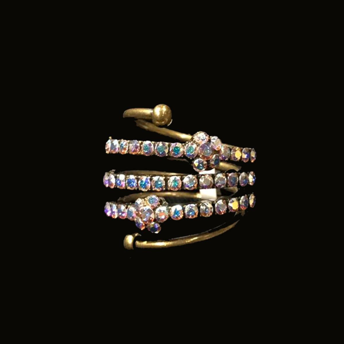 Michal Negrin Vanilla Icing Flower Ring