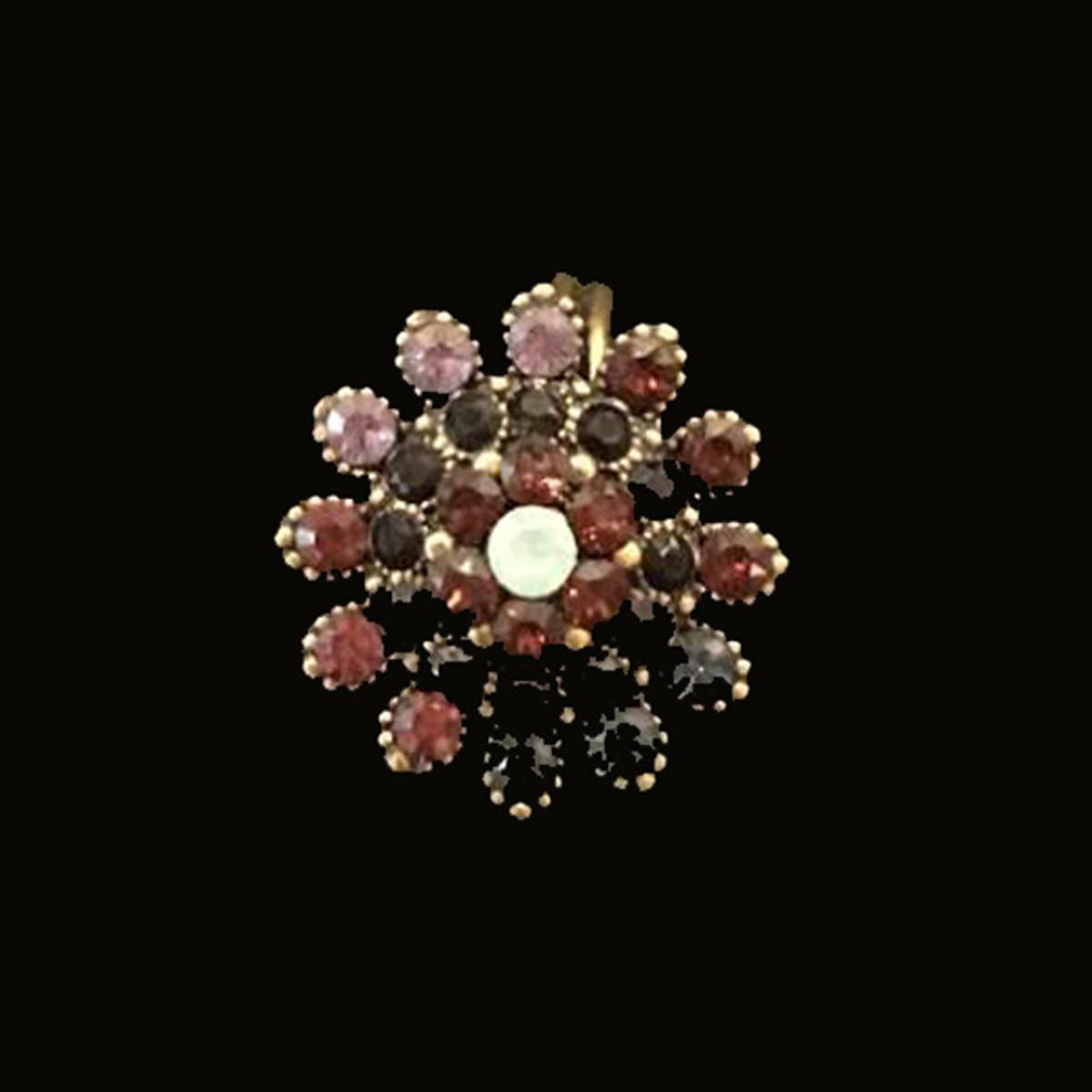 Michal Negrin Multi Petal Flower Ring