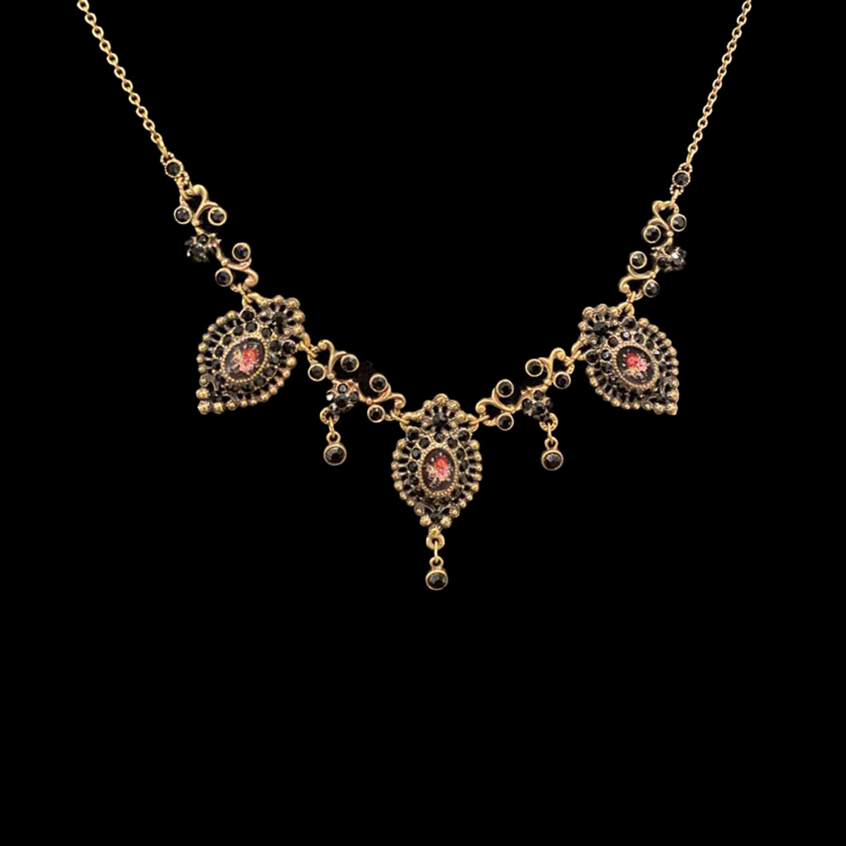 Michal Negrin Clearwater Flower Necklace