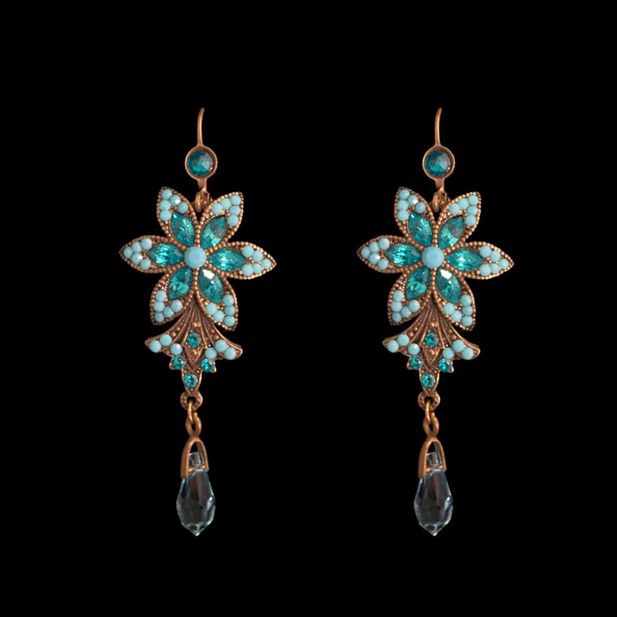 Michal Negrin Big Flower Earrings