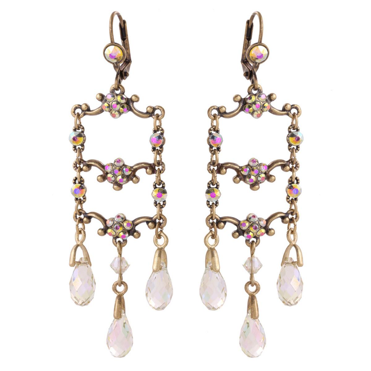 Michal Negrin Sif Crystal Earrings