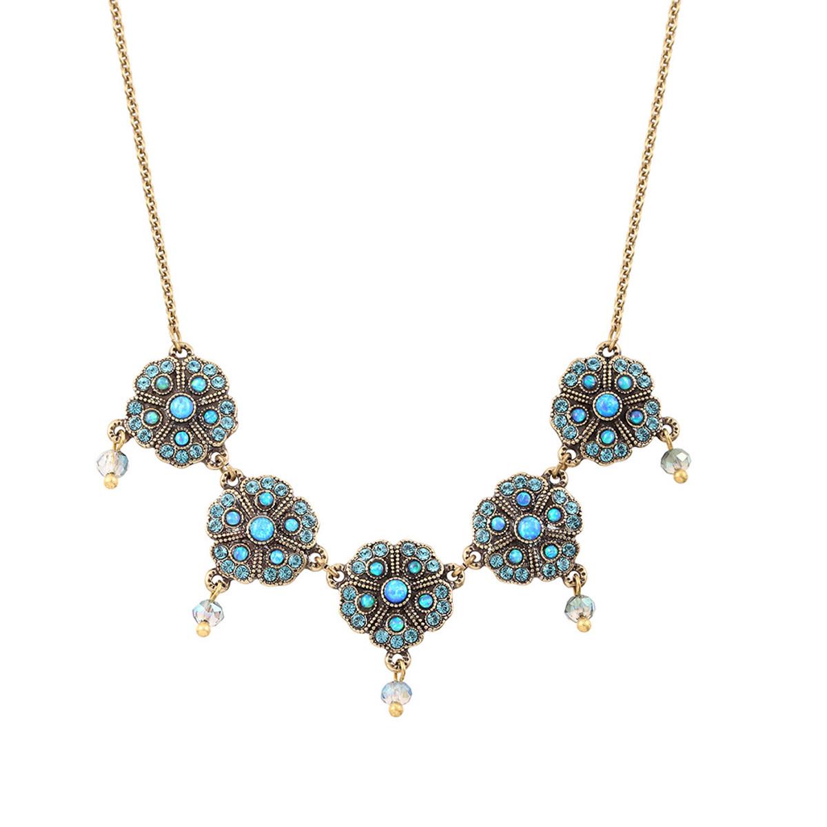 Michal Negrin Jade Drop Necklace