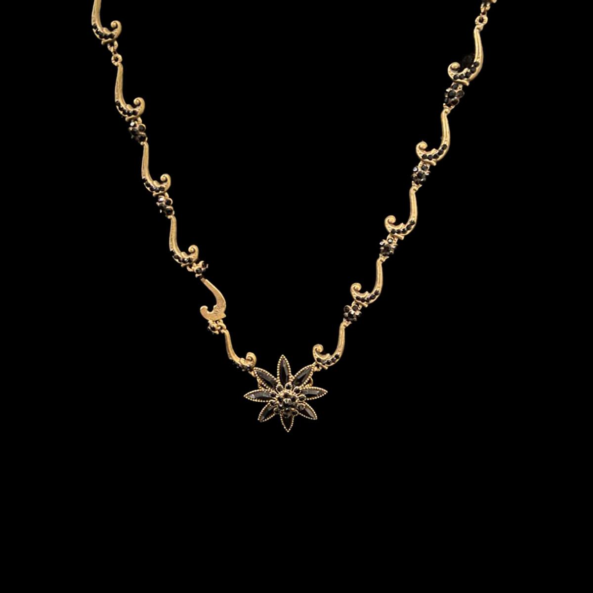 Michal Negrin Midnight Star Necklace
