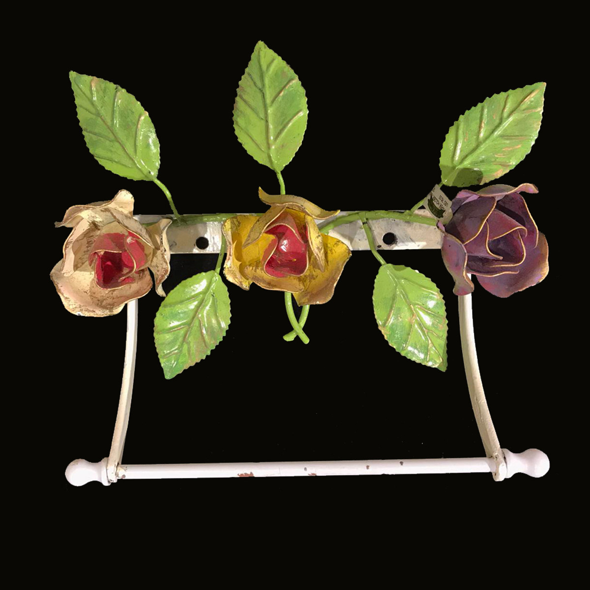 Michal Negrin  Victorian 3D  Roses Toilet Paper Holder