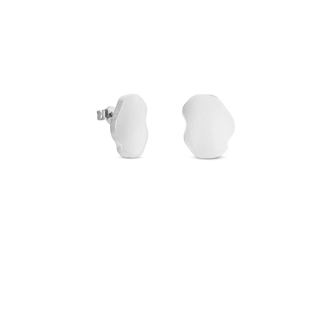 Joidart Expressionista Silver Small Stud Earrings