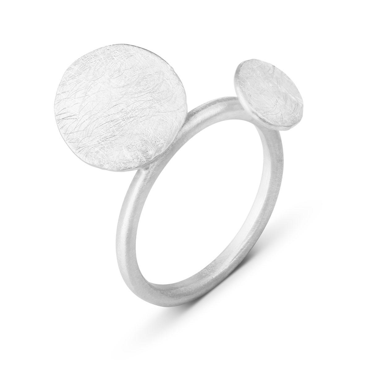 Joidart Flower Bloom Silver Ring Size 7