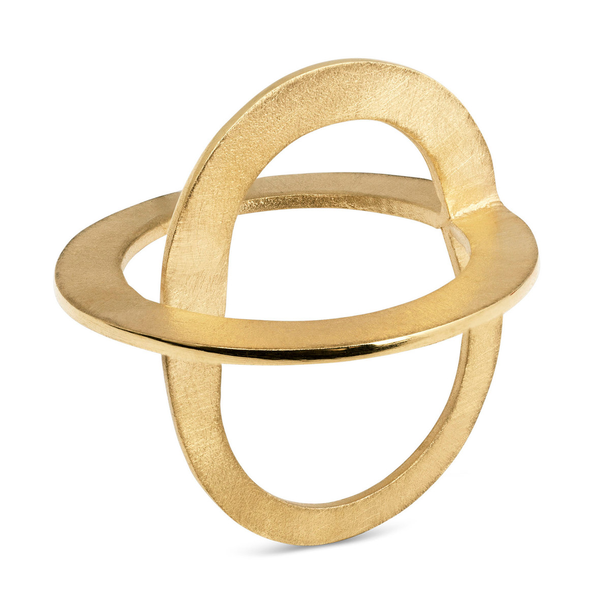 Joidart Cercles Gold Ring Size 7