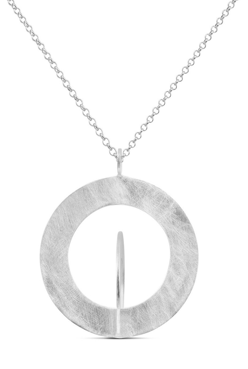 Joidart Cercles Small Silver Pendant